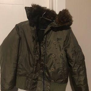 Women's DKNY Bomber Jacket